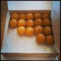 Gulab Jamun sweets from India